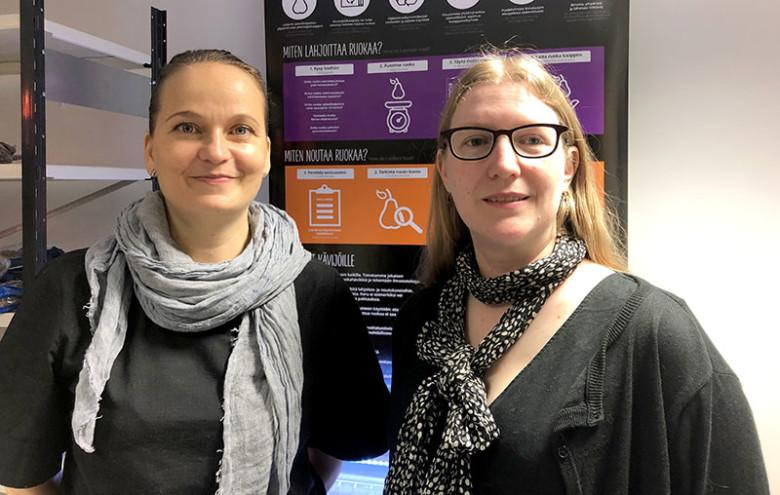 Heidi Uppa ja Eekku Aromaa