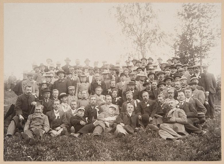 Temperance Association Raittiuden ystävät in 1899.