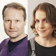 Pasi Mäenpää ja Maija Faenle